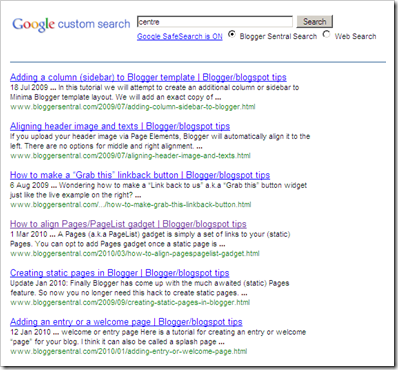 blogger seo tips: Get Better Google Custom Search results with synonyms